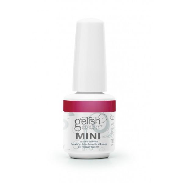 GELISH Гель-лак Red-Y To Wear / GELISH MINI 9млГель-лаки<br>Гель-лак Gelish Mini наносится на ноготь как лак, с помощью кисточки под колпачком. Процедура нанесения схожа с нанесением обычного цветного покрытия. Все гель-лаки Harmony Gelish Mini выполняют функцию еще и укрепляющего геля, делая ногти более прочными и длинными. Ногти клиента находятся под защитой гель-лака, они не ломаются и не расслаиваются. Гель-лаки Gelish Mini после сушки в LED или УФ лампах держатся на натуральных ногтях рук до 3 недель, а на ногтях ног до 5 недель. Способ применения: Подготовительный этап. Для начала нужно сделать маникюр. В зависимости от ваших предпочтений это может быть европейский, классический обрезной, СПА или аппаратный маникюр. Главное, сдвинуть кутикулу с ногтевого ложа и удалить ороговевшие участки кожи вокруг ногтей. Особенностью этой системы является то, что перед нанесением базового слоя необходимо обработать ноготь шлифовочным бафом Harmony Buffer 100/180 грит, для того, чтобы снять глянец. Это поможет улучшить сцепку покрытия с ногтем. Пыль, которая осталась после опила, излишки жира и влаги удаляются с помощью обезжиривателя Gelish MINI Ph Bond или любого другого дегитратора. Нанесение искусственного покрытия Harmony.&amp;nbsp; После того, как подготовительные процедуры завершены, можно приступать непосредственно к нанесению искусственного покрытия Harmony Gelish. Как и все гелевые лаки, продукцию этого бренда необходимо полимеризовать в лампе. Гель-лаки Gelish Mini сохнут (полимеризуются) под LED или УФ лампой. Время полимеризации: В LED лампе 18G/6G = 30 секунд В LED лампе Gelish Mini Pro = 45 секунд В УФ лампах 36 Вт = 120 секунд В УФ лампе Harmony Mini Portable UV Light = 180 секунд ПРИМЕЧАНИЕ: подвергать полимеризации необходимо каждый слой гель-лакового покрытия! 1)Первым наносится тонкий слой базового покрытия Gelish MINI Foundation Soak Off Base Gel 9 мл. 2)Следующий шаг   нанесение цветного гель-лака Harmony Gelish Mini.&amp;nbsp; 3)Заключительный этап На