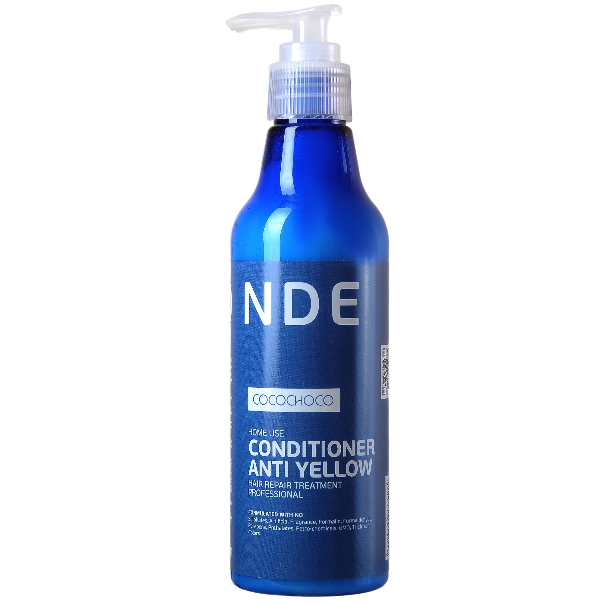 COCOCHOCO Кондиционер для осветленных волос / BLONDE 250 мл ~