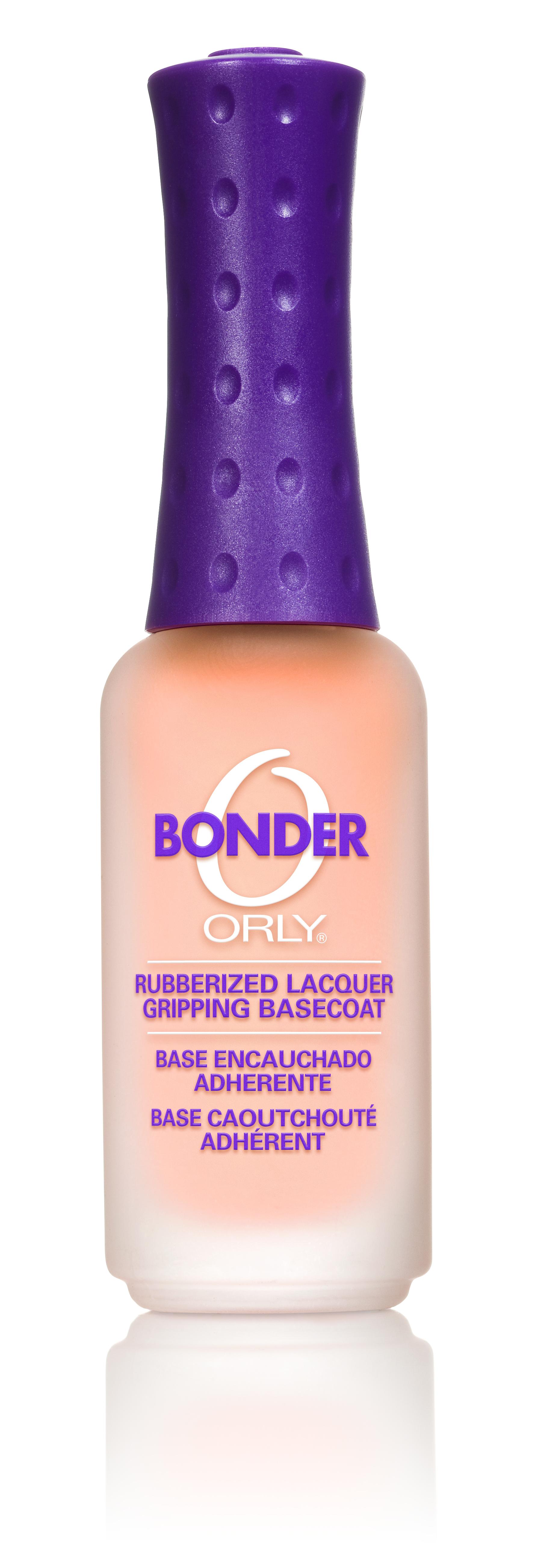ORLY Покрытие базовое для ногтей / Bonder .3 oz 9млБазовые покрытия<br>Эксклюзивное прорезиненное базовое покрытие осуществляет прочное сцепление поверхности ногтя с лаком, предохраняя лак от скалывания и отслаивания. Базовое покрытие Bonder придает ногтям идеальную гладкость и обеспечивает безупречность маникюра, две недели лак выглядит превосходно. Способ применения: 1-2 слоя базового покрытия нанесите на чистую обезжиренную ногтевую пластину. После высыхания можно покрывать ногти цветным лаком либо использовать Bonder как самостоятельное покрытие. Допустимо использование с любым верхним покрытием. С чем использовать: перед нанесением базового покрытия Bonder лучше всего обезжирить ногти средством Clean Prep. Для быстрого закрепления и сушки многослойного маникюра используйте вместе с Bonder в качестве верхнего покрытия сушку-момент Flash Dry от ORLY. Активные ингредиенты.Состав: бутилацетат, изопропил, гептан, этилацетат, триметил пентанил диизобутират, тосиламид-эпоксидная смола, поливинилбутирал, нитроцеллюлоза, бензофенон-1, CI 26100 (Red 17), CI 47000 (Yellow 11), CI 60725 (Violet 2).<br><br>Объем: 9 мл