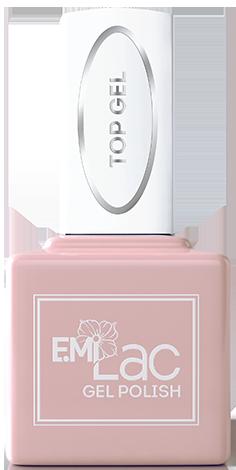 Купить E.MI Покрытие верхнее для гель-лака / E.MiLac Top gel 15 мл