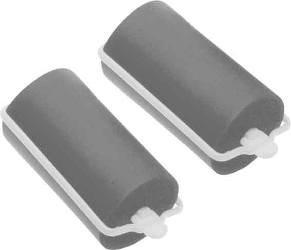 Купить DEWAL BEAUTY Бигуди резиновые серые, d 28x70 мм 10 шт