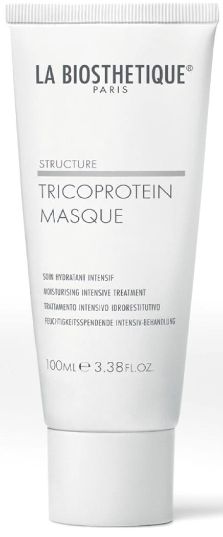 La biosthetique маска увлажняющая с мгновенным эффектом для сухих волос / tricoprotein masque 100 мл
