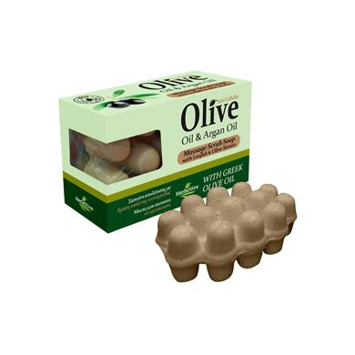 MADIS Мыло оливковое с маслом арганы / HerbOlive 90 г