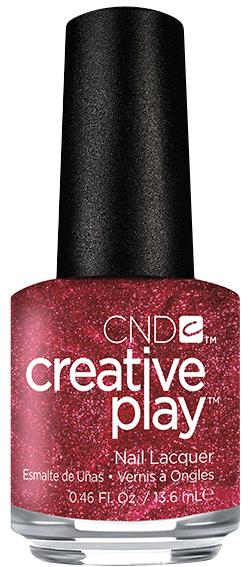 CND 415 лак для ногтей / Crimson Like It Hot Creative Play 13,6 мл