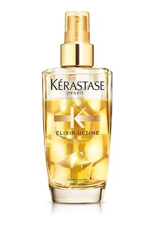 KERASTASE Масло-дымка с эффектом объема / ELIXIR ULTIME 100млМасла<br>Невероятный блеск, роскошный объем. 1-ое двухфазное масло-дымка для придания объема тонким волосам от K rastase. Масло-дымка для тонких и нормальных волос обладает новой двухфазной текстурой, благодаря которой волосы остаются невероятно блестящими и мягкими, приобретая дополнительный объем и плотность. Термозащита до 230 градусов. Активные ингредиенты: ОЛЕО КОМПЛЕКС и инновационная молекула Intracylane : сочетание четырех ценнейших масел и прорывной формулы.   Intracylane : увеличивает диаметр каждого волоса, делая их заметно более плотными.   Масло Pracaxi: восстановление материи волос.   Аргановое масло: защита от иссушения.   Масло Камелии: совершенный блеск.   Масло Кукурузных зерен: интенсивное питание. Способ применения:   Перед укладкой: 1-2 нажатия равномерно распределить на подсушенных полотенцем волосах для облегчения укладки.   Завершение уклдаки: для придания блеска, мягкости и гладкости волосам, равномерно распылите продукт (1 нажатие) по длине волос, уделяя особое внимание концам.   В течение дня: идеально подходит для питания волос на протяжении дня. 1- 2 нажатия масла равномерно распылите по длине волос, уделяя особое внимание концам.   В салоне: облегчает стрижку - 1- 2 нажатия масла равномерно распылите по длине волос, уделяя особое внимание концам.<br><br>Объем: 100 мл