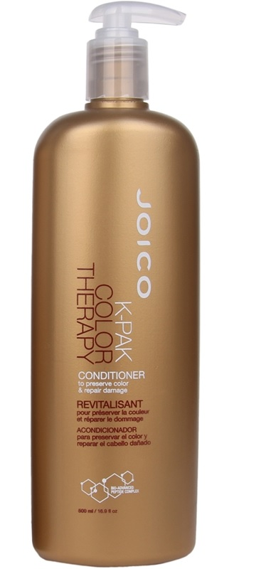 JOICO Кондиционер восстанавливающий для окрашенных волос / K-PAK COLOR THERAPY 500 мл biosilk color therapy восстанавливающий кондиционер для окрашенных волос color therapy восстанавливающий кондиционер для окрашенных волос 355 мл