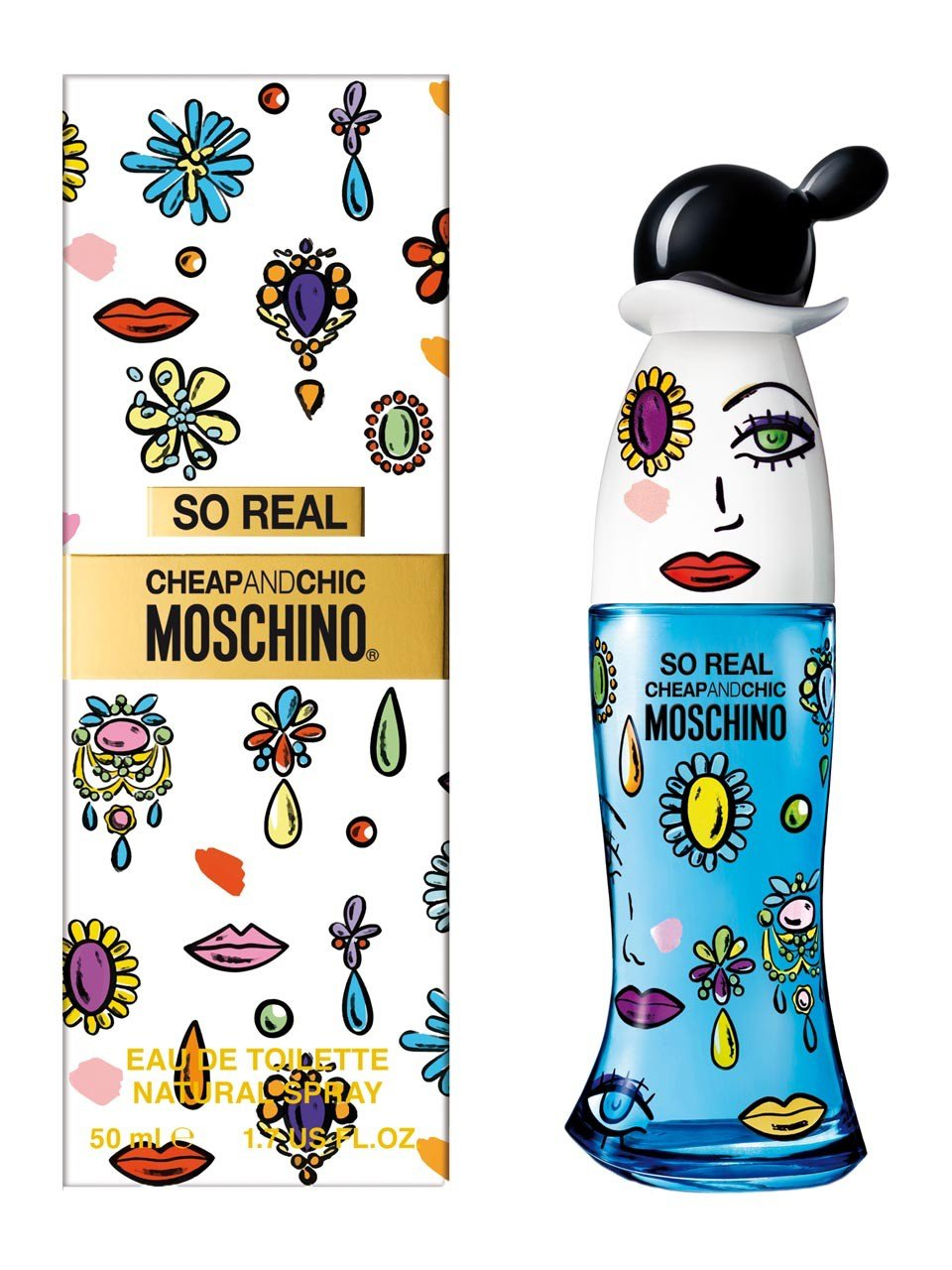 MOSCHINO Вода туалетная женская Moschino So Real Cheap and Chic, спрей 50 мл - Парфюмерия