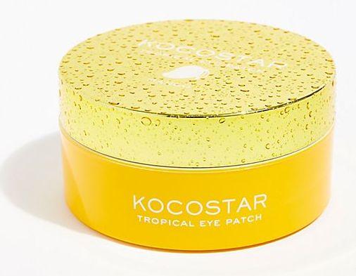 KOCOSTAR Патчи гидрогелевые для глаз Тропические фрукты, манго / Tropical Eye Patch Mango Jar 60 патчей - Патчи