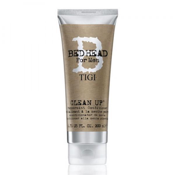 TIGI Кондиционер мятный для волос / BED HEAD for Men Clean Up Peppermint Conditioner, 200 мл -  Кондиционеры