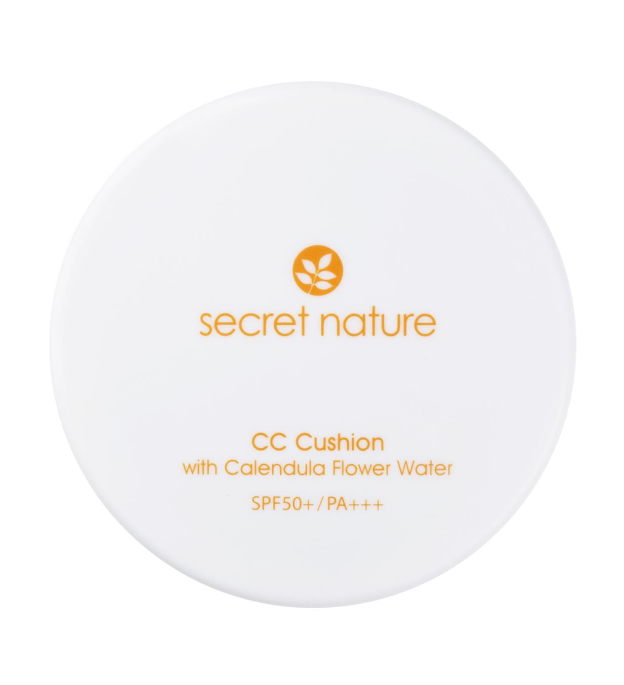 SECRET NATURE Основа-кушон тональная с экстрактом календулы SPF50+/PA+++ №21 13 г