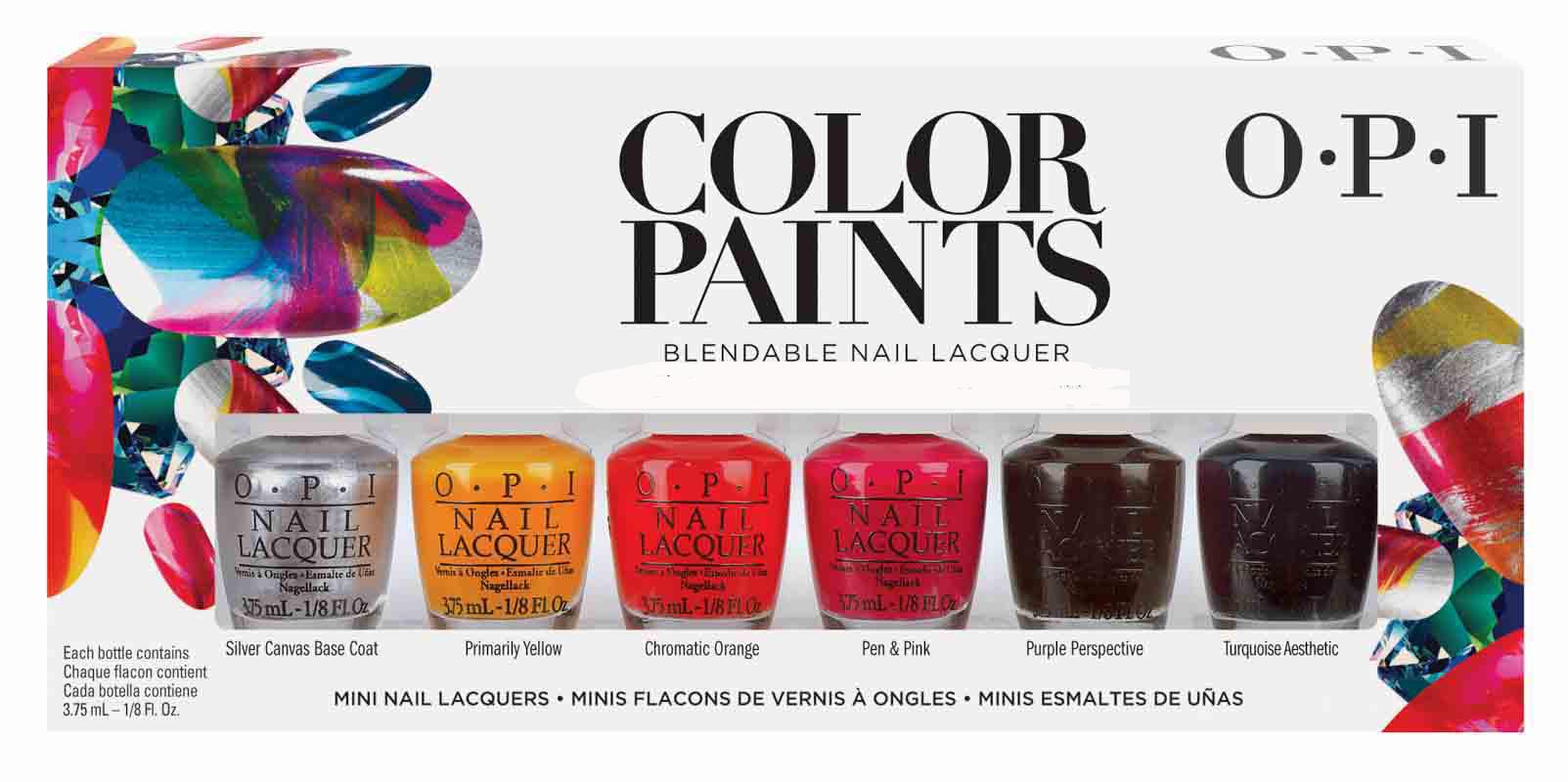 OPI МИНИ лаки Color Paints Mini Pack by OPI - (NLP19/20/21/22/24/26) - 6*3.75мл