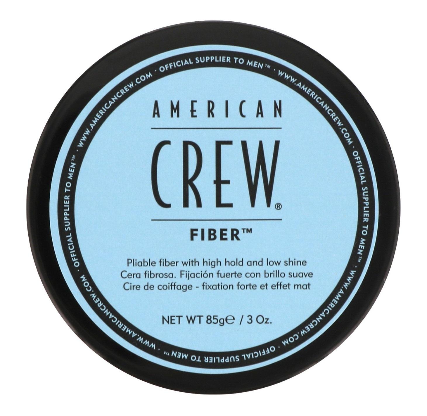 AMERICAN CREW Паста для укладки усов с низким уровнем блеска, для мужчин / FIBER 85 мл