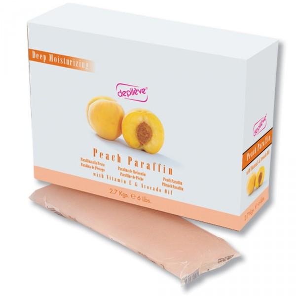 DEPILEVE Парафин Персиковый 450грПарафины<br>Парафин персиковый. Идеален для парафинотерапии рук. Активные ингредиенты:&amp;nbsp;витамин Е и масло из персиковых косточек. &amp;nbsp;<br>