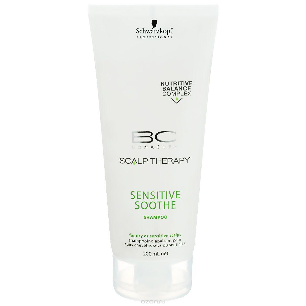 SCHWARZKOPF PROFESSIONAL Шампунь для чувствительной кожи головы / BC SENSITIVE SOOTHE 200мл