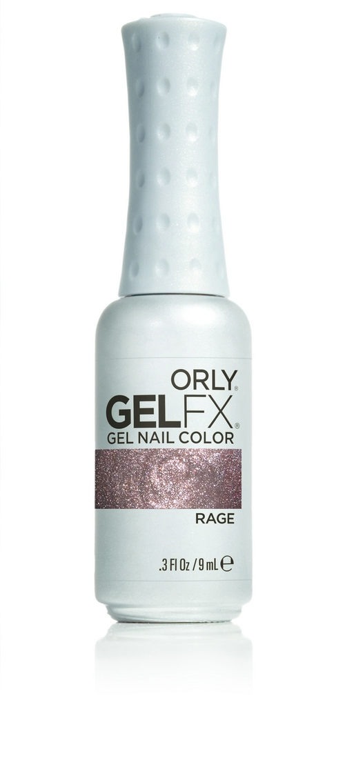 ORLY Гель-лак 293 RAGE / GEL FX 9мл orly мини лак для ногтей rage 701 5 3мл