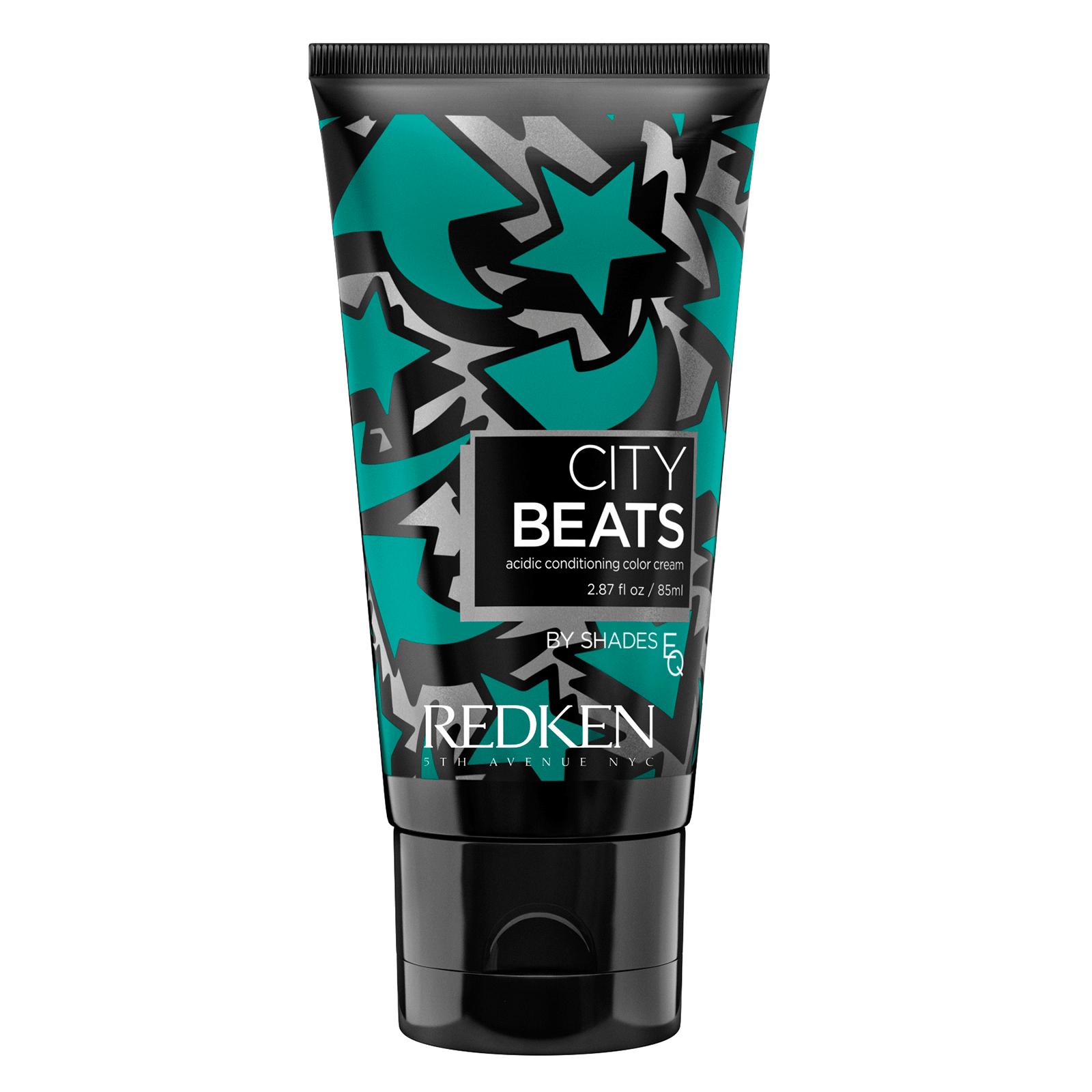 REDKEN Крем с тонирующим эффектом для волос Неоново-изумрудный Таймс-Сквер (зеленый) / CITY BEATS 85 мл