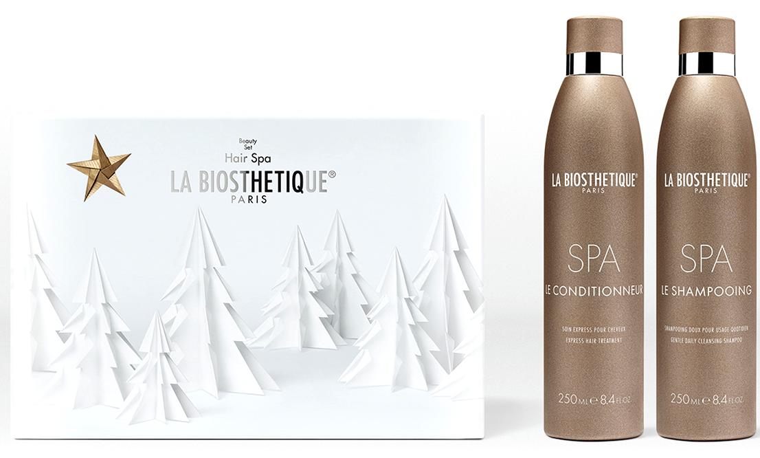 LA BIOSTHETIQUE Набор по уходу за волосами, в подарочной коробке / SPA 2*250 мл набор labiosthetique набор для стайлинга smooth