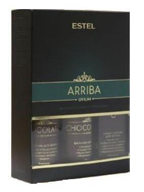 ESTEL PROFESSIONAL Набор для волос (шампунь, бальзам, спрей-сияние) / CHOCOLATIER ARRIBA dnc набор филлер для волос 3 15 мл и шелк для волос 4 10 мл