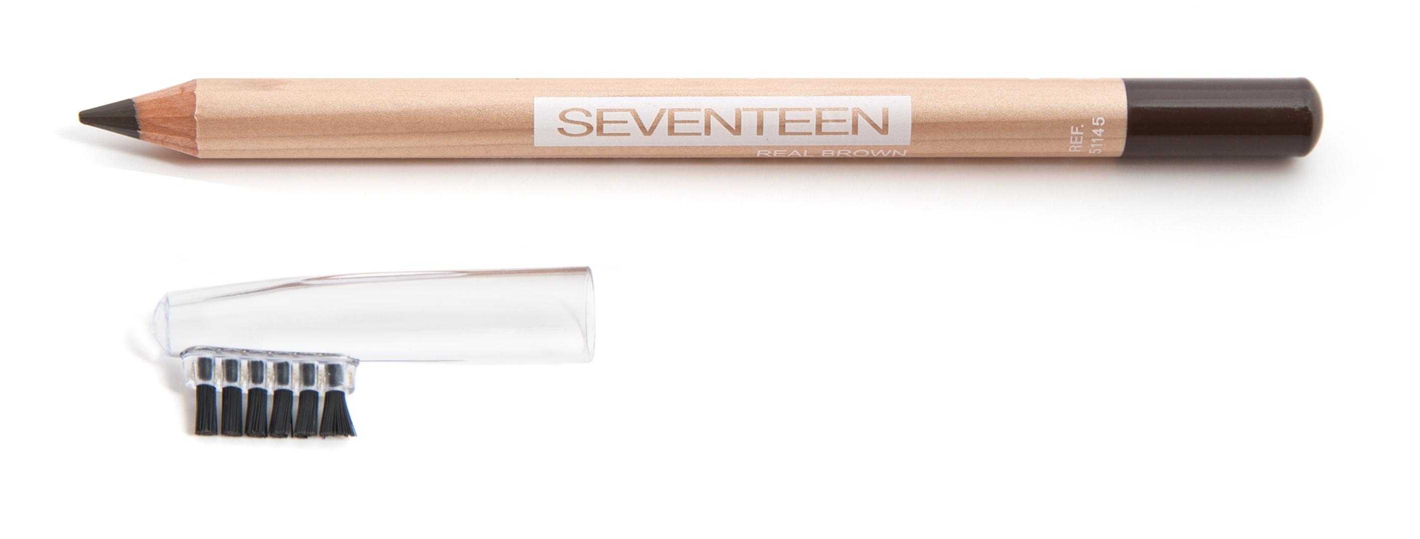 SEVENTEEN Карандаш с щеточкой для бровей, 06 коричневый / LONGSTAY EYE BROW SHAPER 1,14 г