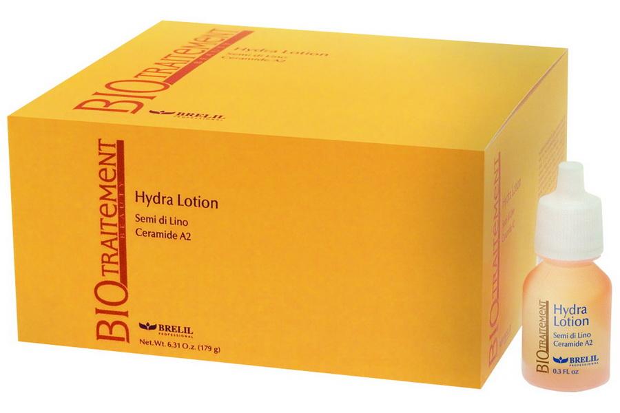 BRELIL Лосьон увлажняющий с эффектом термозащиты / Bio Traitement Beauty 12x10мл