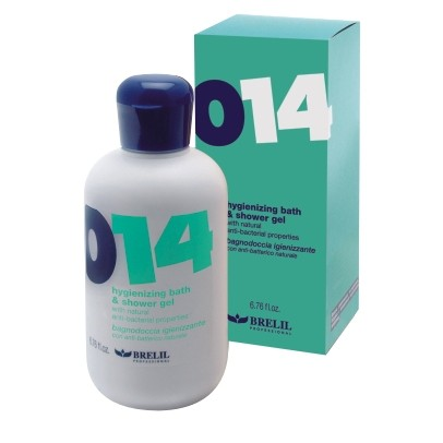 BRELIL ����������������� ���� ��� ���� 0 �� 14 ���/Hygienizing bath &shower gel 200��~