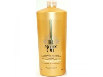 LOREAL PROFESSIONNEL Шампунь для нормальных и тонких волос / МИТИК ОЙЛ 1000мл loreal professionnel шампунь для очень поврежденных волос абсолют репэр липидиум 1500мл