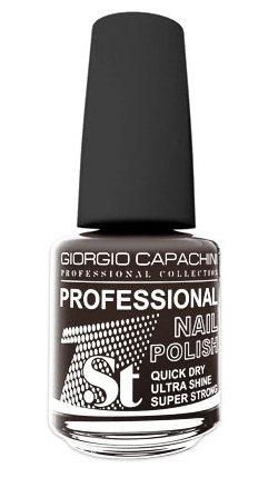 Купить GIORGIO CAPACHINI 118 лак для ногтей / 1-st Professional 16 мл, Черные