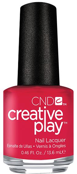 Купить CND 411 лак для ногтей / Well Red Creative Play 13, 6 мл, Красные