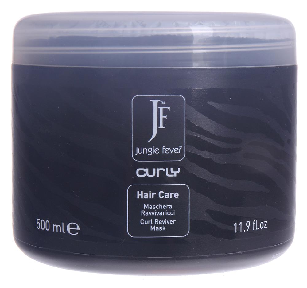 JUNGLE FEVER Маска для вьющихся волос / Curly Mask HAIR CARE 500млМаски<br>Не утяжеляя, сохраняет естественную упругость и легкость локонов, одновременно питая и защищая волосы по всей длине. Входящие в состав маски экстракты фруктов (ананаса, папайи, пассифлоры, манго) позволяют волосам выглядеть легкими, упругими и блестящими. Активные ингредиенты: содержит экстракты ананаса, папайи, пассифлоры, манго. Способ применения: нанести маску на влажные волосы равномерно по всей длине, включая кончики, выдержать 3-5 мин., затем тщательно смыть теплой водой и приступить к укладке.<br><br>Типы волос: Кудрявые