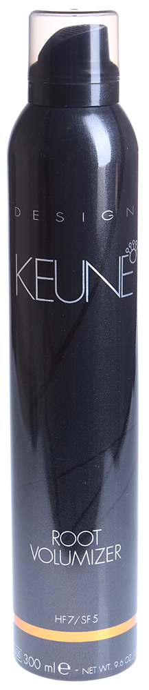 KEUNE Мусс-спрей прикорневой объем / ROOT VOLUMIZER 300млМуссы<br>Мусс-спрей с Уф фильтром создает объем у корней и придает дополнительную фиксацию волосам. Мультифруктовый комплекс придает волосам дополнительный блеск. Провитамин В5 защищает и кондиционирует волосы. Особенно рекомендуется для укладки редких, тонких и тусклых волос. Фактор фиксации: 14 Активный состав: Пантенол, гидрогенизированное касторовое масло, экстракт черники, экстракт сахарного тростника, кленовый экстракт, апельсиновый экстракт, экстракт лимона. Применение: Встряхнуть перед употреблением. Наносить на высушенные полотенцем волосы. Разделите волосы на секции и распылите мусс-спрей на корни каждой секции. Высушите феном при помощи круглой расчески, создавая объем от корней.<br><br>Объем: 300<br>Типы волос: Тонкие