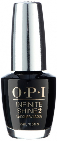 "OPI Лак для ногтей ""We're in the Black"" / Infinite Shine Nail Lacquer 15мл"