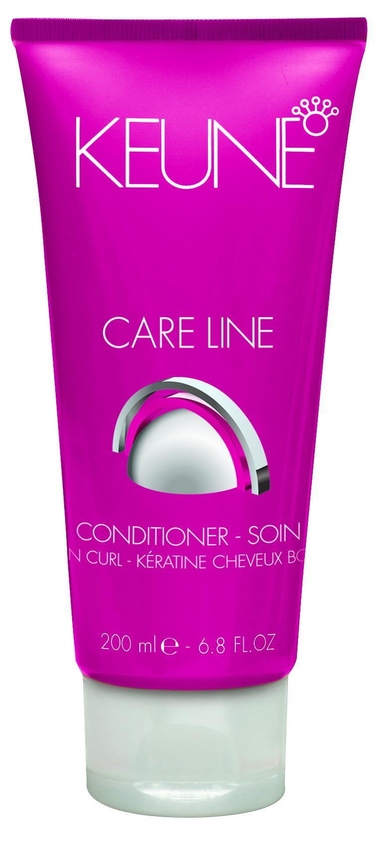 KEUNE Кондиционер Кэе Лайн Кератиновый локон / CL KERATIN CURL CONDITIONER 200мл keune кондиционер спрей 2 фазный для кудрявых волос кэе лайн cl control 2 phase spray 400мл