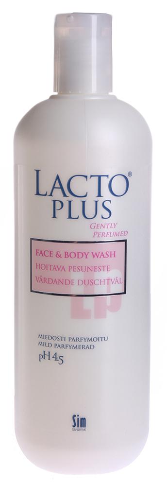 SIM SENSITIVE Мыло жидкое для лица и тела (аром) / LACTO PLUS 500млМыла<br>Мягкое прозрачное жидкое мыло для лица и тела было разработано для самой нежной и чувствительной кожи. Освежающее слегка ароматизированное жидкое мыло для лица и тела сохраняет естественный баланс влажности кожи, уровень рН 4,5. Рекомендуется использовать для детской, нежной и проблемной кожи. В состав каждого средства линейки &amp;laquo;Лакто Плюс&amp;raquo; входит: молочная кислота, экстракт Алоэ Вера и кокосовое масло. Молочная кислота - играет первостепенную роль, так как именно она способствует эффективному увлажнению, но и заживлению ранок. Кожу любого человека покрывает особая водно-липидная мантия или, попросту, защитная мантия. При малейших повреждениях этой защиты молочная кислота буквально достраивает недостающие фрагменты, восстанавливая кожный покров. Алоэ Вера - экстракт Алоэ Вера является сильнейшим природным увлажнителем и регенератором, который оказывает противомикробное и противовоспалительное действие. Благодаря экстракту Алоэ Вера процесс заживления чувствительной и атопичной кожи протекает очень быстро и практически не оставляет рубцов. Алоэ Вера 100% природный компонент, экстракт растения алоэ. В состав входят более 200 элементов, среди которых 20 минералов, 18 аминокислот и 12 витаминов. Кокосовое масло - это моющая основа, она абсолютно безвредна для здоровья человека и не вызывает аллергических реакций на атопичной и детской коже. Активные ингредиенты: Молочная кислота, экстракт Алоэ Вера, кокосовое масло. Способ применения: Нанесите мыло на влажную кожу руками или с помощью губки. Распределите по поверхности, затем смойте.<br>