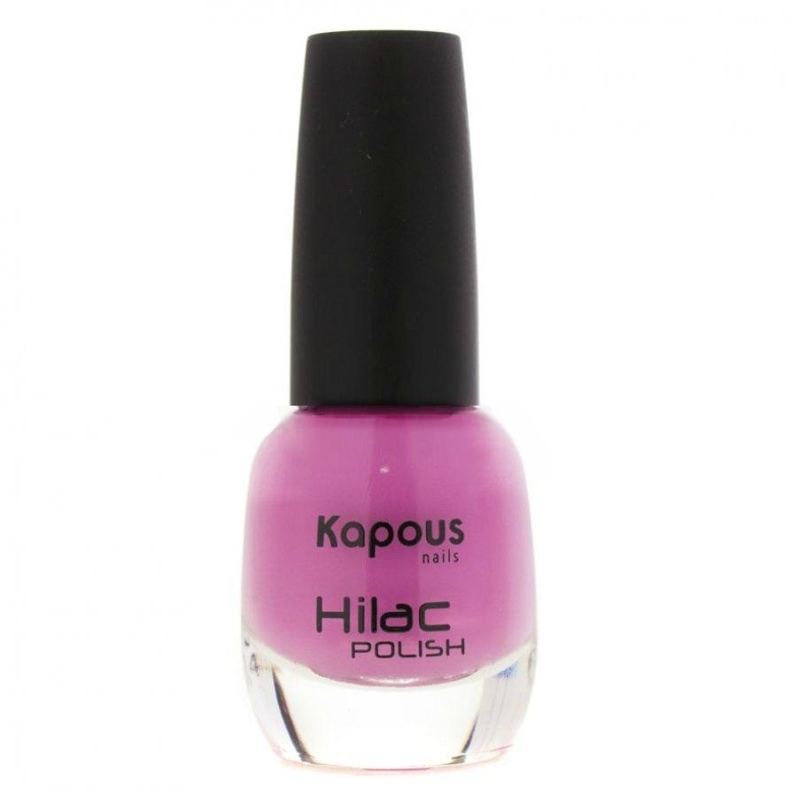 KAPOUS Лак для ногтей, сладкая суета / Hilac 12 мл