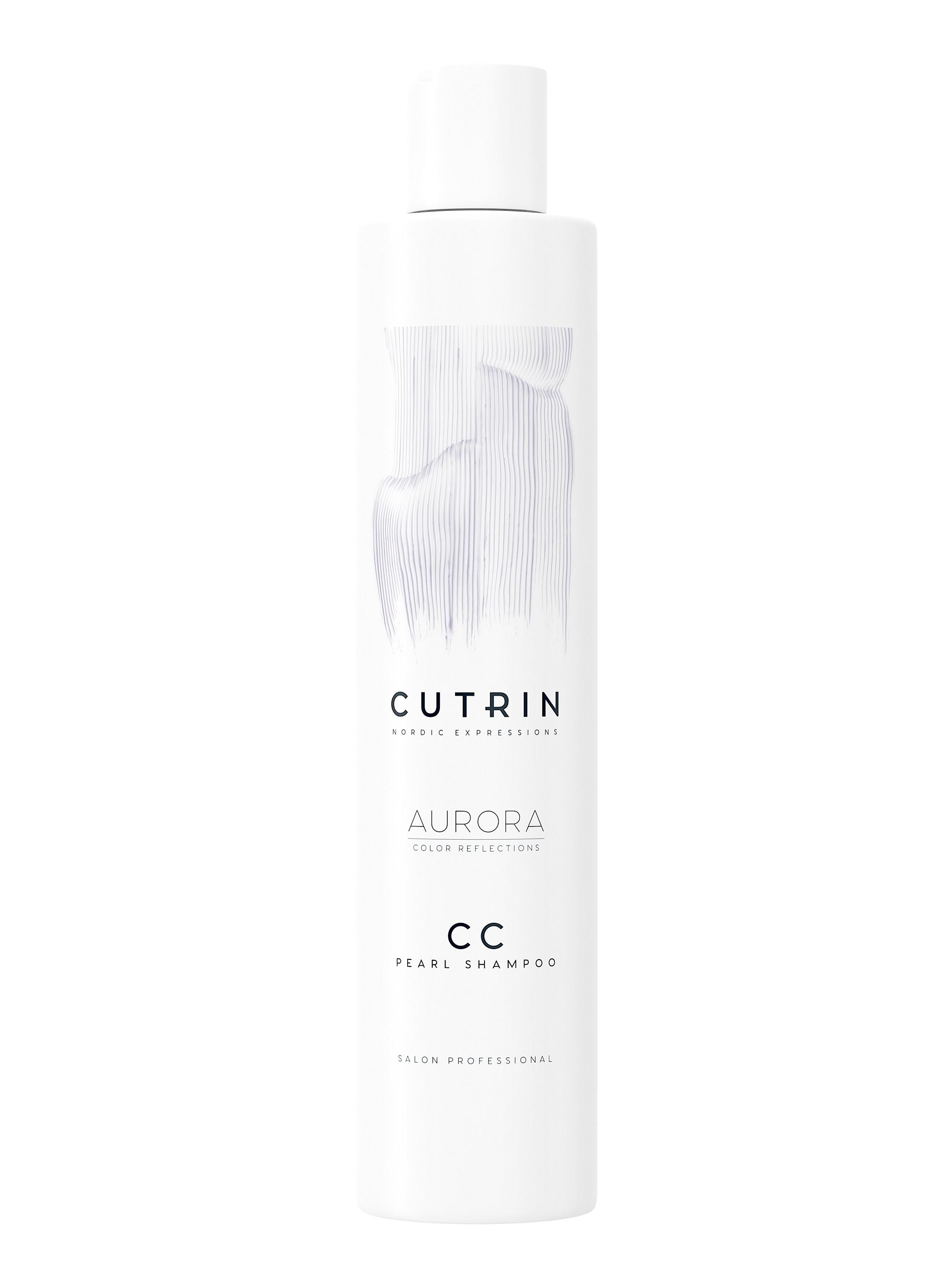 CUTRIN Шампунь тонирующий Перламутровый блеск / AURORA COLOR CARE 250 мл, Жемчужный  - Купить