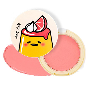 HOLIKA HOLIKA Румяна гелевые CR01 (грейпфрут) Гудетама / Gudetama Jelly Dough Blusher 6гр