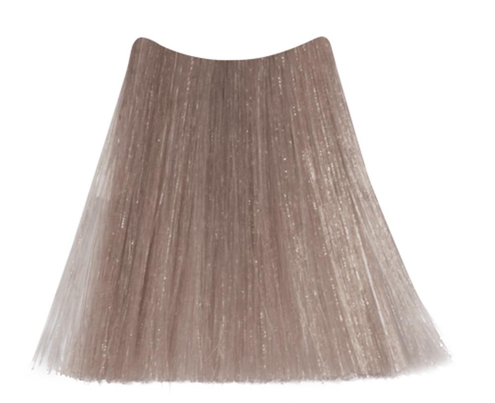 KEEN 10.61 краска стойкая для волос (без аммиака), ультра-светлый фиолетово-пепельный блондин / Ultrahellblond Violett-Asch VELVET COLOUR 100 мл фото