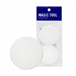 HOLIKA HOLIKA Пуф для лица Мэджик Тул / Magic Tool NBR Puff, 2 шт