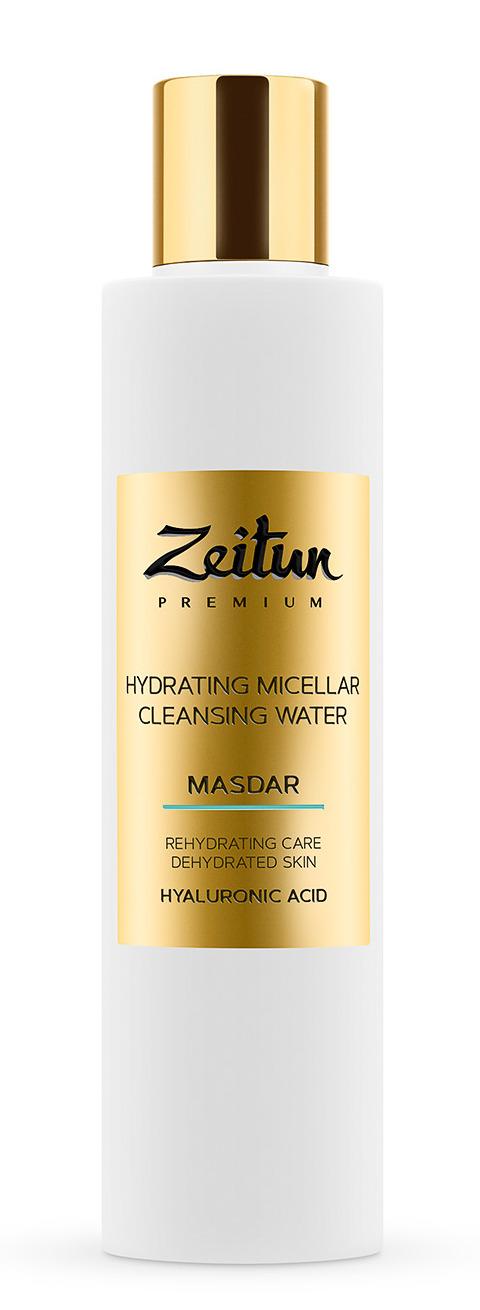 ZEITUN Вода мицеллярная увлажняющая с гиалуроновой кислотой / MASDAR 200 мл