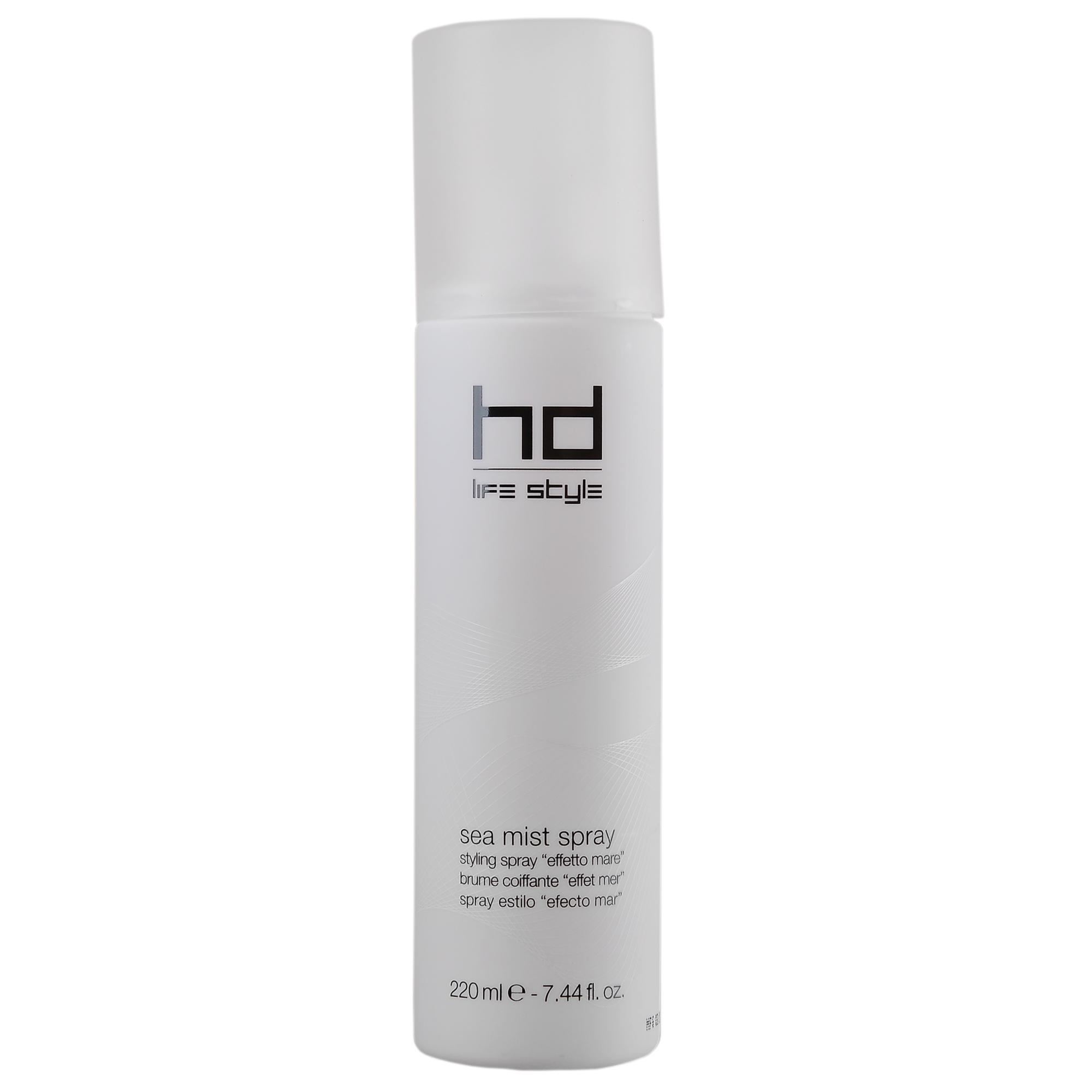 FARMAVITA Спрей Морской туман HD SEA MIST SPRAY / HD LIFE STYLE 220 млСпреи<br>Спрей Морской Туман Sea mist spray от ведущего итальянского бренда косметики для волос FarmaVita разработан для создания  пляжного эффекта . Моделирующее средство позволяет создать красивую укладку, придав волосам живой и романтичный вид. Использование спрея помогает защитить волосы от ветра и влияния других внешних факторов. Витамин C, входящий в состав средства, активно оживляет и увлажняет тусклые волосы, а натуральная морская соль позволяет создать невероятный объем. Активные ингредиенты: Витамин С - активно увлажняет и оживляет волосы как кондиционер.&amp;nbsp; Морская соль - придает волосам невероятный объем.&amp;nbsp; Способ применения: нанесите спрей Sea Mist на сухие или влажные волосы и равномерно распределите его по волосам. Выполните желаемую укладку. Средство может использоваться на сухих волосах, чтобы зафиксировать и подчеркнуть детали прически. Для дополнительной защиты волос используйте Sea Mist Spray с шампунем 01.Hydro Repair и маской 02.Hydro Repair из линии Hydro Repair.<br><br>Объем: 220 мл<br>Вид средства для волос: Моделирующая