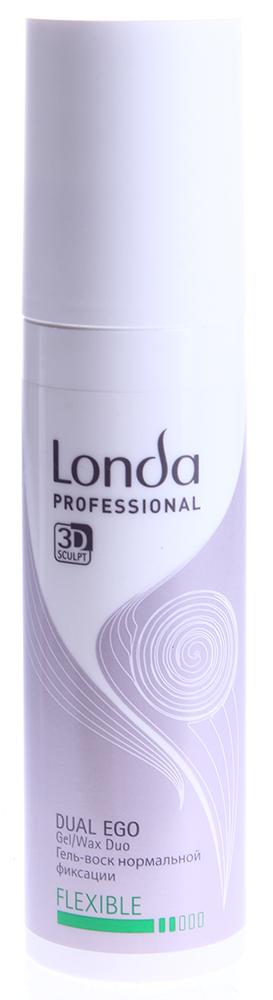 LONDA PROFESSIONAL Гель-воск для укладки волос нормальной фиксации / DUAL EGO 100мл