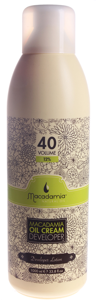 MACADAMIA Natural Oil Окислитель 12% / Developer MACADAMIA COLORS 1000 мл black cold shoulder lace up t shirts
