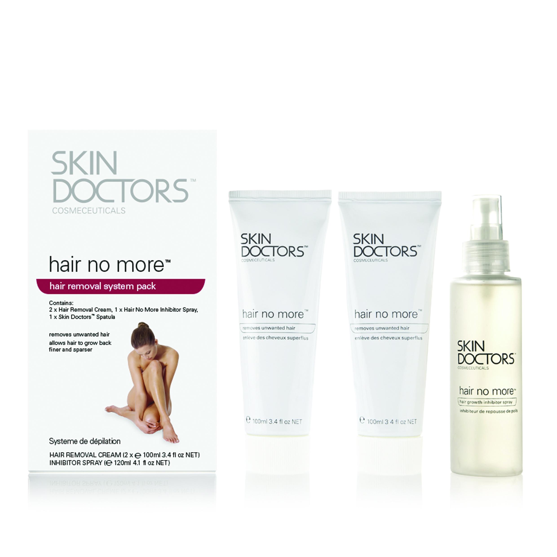 SKIN DOCTORS Набор для удаления и замедления роста волос / Hair No More Pack (3 препарата)