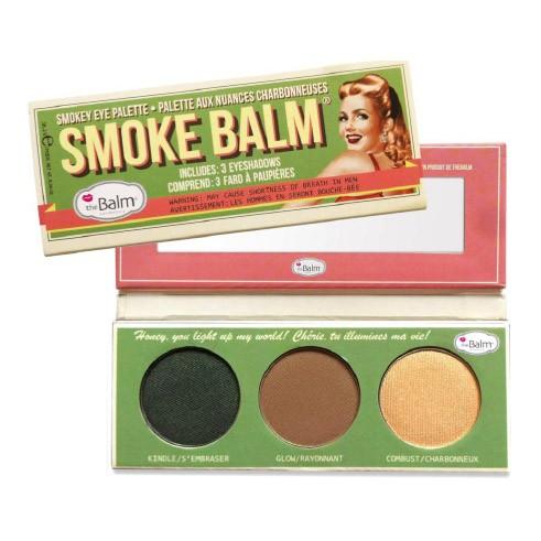 THE BALM Палетка теней / Smoke Balm #2Тени<br>Палетка теней Smoke Balm. Палетка теней для век. 2 разные комбинации включают правильно подобранные оттенки для макияжа век в технике SMOKY EYES (дымчатый взгляд). Обратите внимание клиентов на отличную растушевку теней theBalm, что является обязательным условием макияжа глаз в любой технике, а особенно   SMOKY EYES. Простая схема создания макияжа в модной технике служит дополнительным бонусом при продаже.<br>
