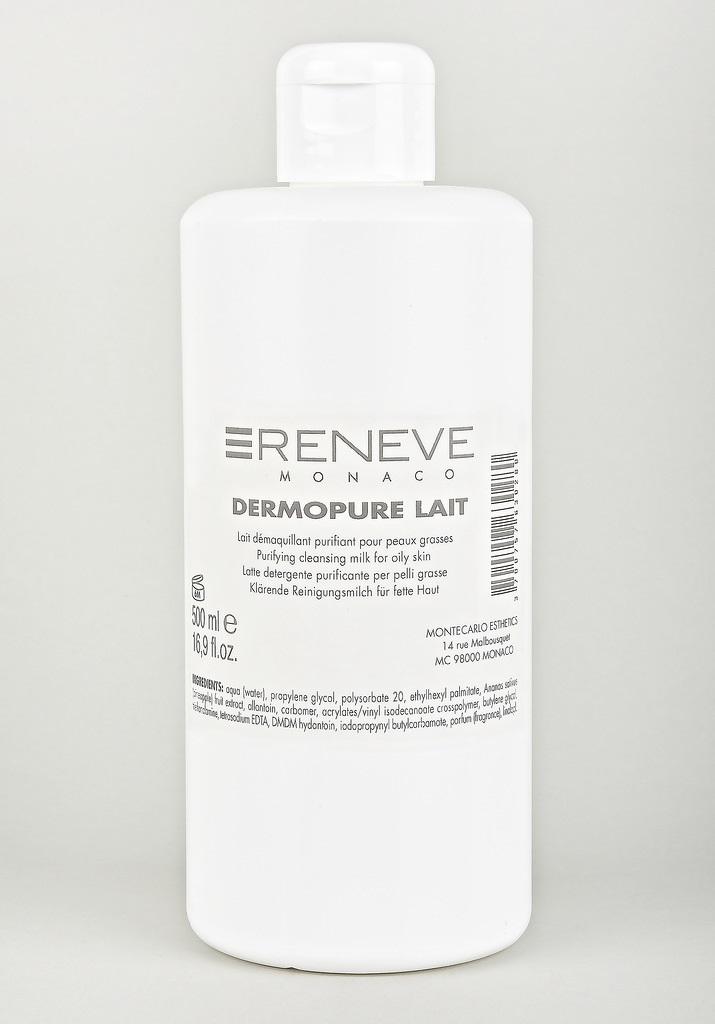 RENEVE Молочко очищающее для жирной кожи лица / DERMOPURE LAIT 500мл