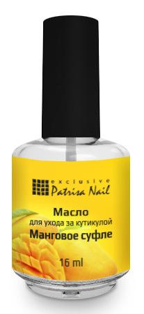 Купить PATRISA NAIL Масло для ухода за кутикулой, манговое суфле 16 мл