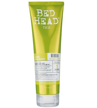 TIGI Шампунь для нормальных волос уровень 1 / BED HEAD Urban Anti+dotes Re-Energize, 250 мл