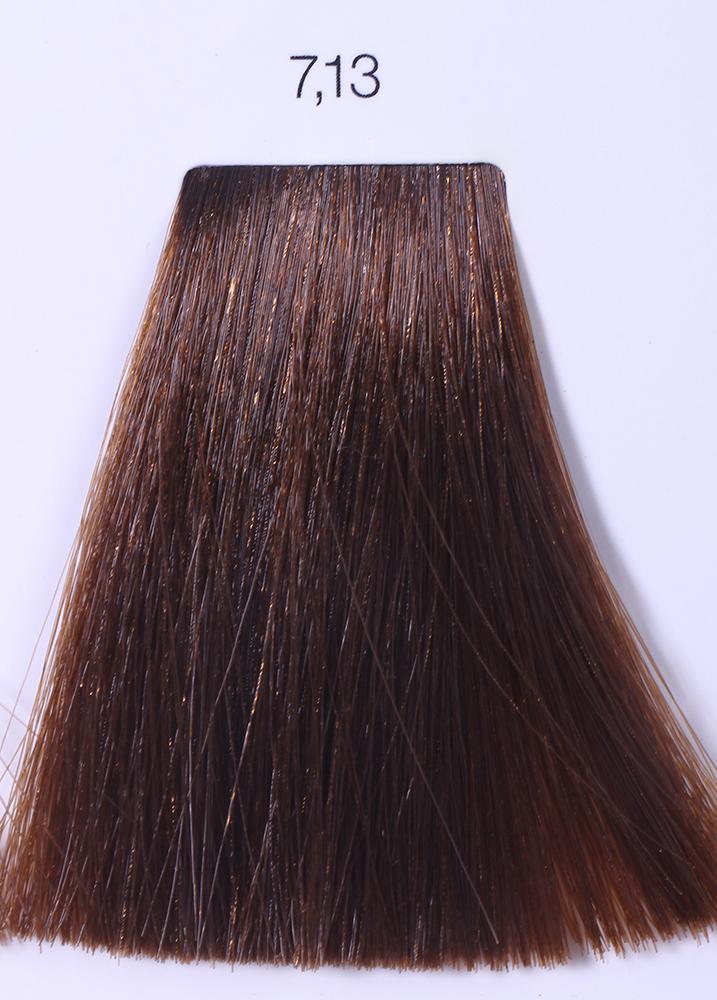 LOREAL PROFESSIONNEL 7.13 краска для волос / ИНОА ODS2 60грКраски<br>INOA - первый краситель, позволяющий достичь желаемых результатов окрашивания, окрашивать тон в тон, осветлять волосы на 3 тона, идеально закрашивает седину и при этом не повреждает структуру волос, поскольку не содержит аммиака. Получить стойкие, насыщенные цвета позволяет инновационная технология Oil Delivery System (ODS) система доставки красителя при помощи масла. Благодаря удивительному действию системы ODS при нанесении, смесь, обволакивая волос, как льющееся масло, проникает внутрь ткани волос, чтобы создать безупречный цвет. Уникальность системы ODS состоит также в ее умении обогащать структуру волоса активными защитными элементами, который предотвращает повреждения и потерю цвета.  После использования красителя окислением без аммиака Inoa 4.20 от LOreal Professionnel волосы приобретают однородный насыщенный цвет, выглядят идеально гладкими, блестящими и шелковистыми, как будто Вы сделали окрашивание и ламинирование за одну процедуру.  Способ применения: Приготовьте смесь из красителя Inoa ODS 2 и Оксидента Inoa ODS 2 в пропорции 1:1. Нанесите смесь на сухие или влажные волосы от корней к кончикам. Не добавляйте воду в смесь! Подержите краску на волосах 30 минут. Затем тщательно промойте волосы до получения чистой, неокрашенной воды.<br><br>Цвет: Корректоры и другие<br>Типы волос: Для всех типов