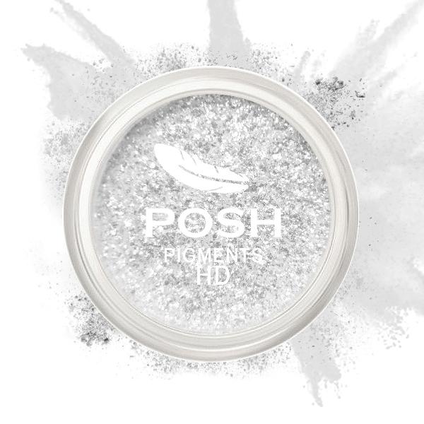 POSH Пигмент для глаз и губ, HD № 6 Серебро 3,5 г - Блески для губ
