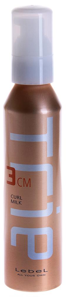 LEBEL Молочко для укладки / Trie CURL MILK 3 140млМолочко<br>Для структурирования завитка на вьющихся волосах или химически завитых волосах. Для выпрямления вьющихся волос без потери легкости и объема прически. Снимает статику. Препятствует впитыванию посторонних запахов. Защищает волосы от термического воздействия и негативных факторов окружающей среды. Новый аромат Framboise (малина) и La France (груша). SPF 15. Способ применения: Нанести небольшое количество молочка на влажные волосы, начиная с кончиков. Расход на волосы средней длины 1-2 нажатия дозатора. Приступить к укладке.<br><br>Объем: 140<br>Типы волос: Кудрявые